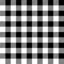 Buffalo Check - BLACK/WHITE