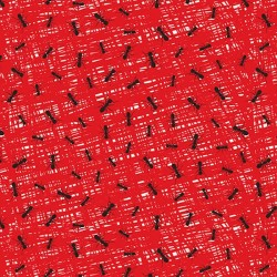 Abstract Texture with Ants - RED