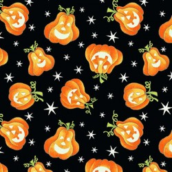Tossed Pumpkins - BLACK
