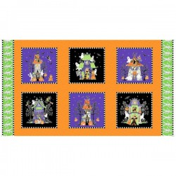 Halloween Large Blocks - MULTI