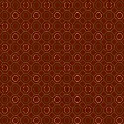 Mini Hexie Allover - RED
