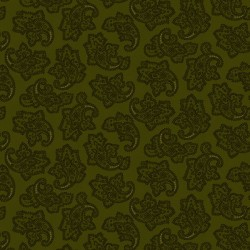 Delicate Paisley - GREEN