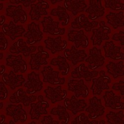 Delicate Paisley - RED