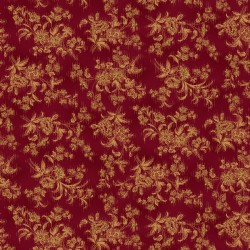 Sylized Floral - RED
