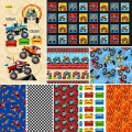 MONSTER TRUCKS BY PATTERN WHEEL