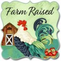 FARM RAISED BY GAIL GREEN