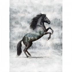 Panel - Horse 82cm - NOIR