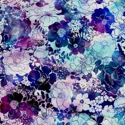 Flower Outlines - VIOLET