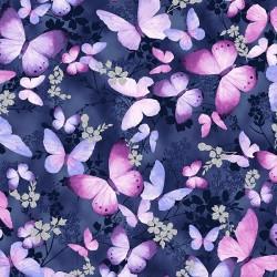 Butterflies - NEW GRAPE SILVER