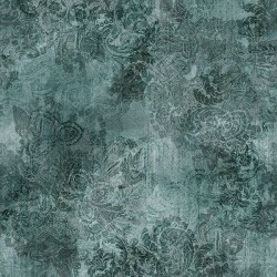 Vintage Paisley - DUSTY TEAL
