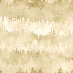 FOREST BACKGROUND DIGITAL - CREAM