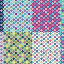 LGE DOTS FQ PANEL (1.83M) - SWEETPEA