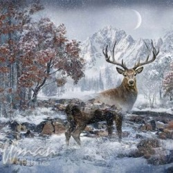 CALL OF THE WILD DEER DIGITAL PANEL (69CM)