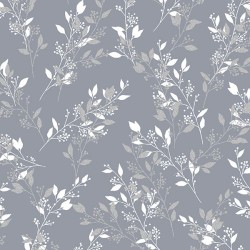 Leaves - PEWTER/SILVER