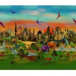 Dino-mite Digital Panel (110cm) - VOLCANO
