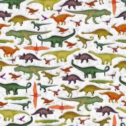 Tossed Dinosaurs - GRAY