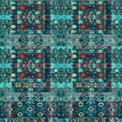 Multi Pattern - TEAL