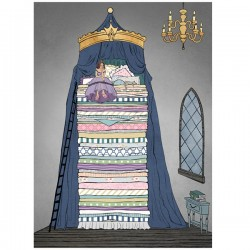 Princess and the Pea Panel (110cm) - PETIT FOUR
