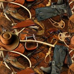 Cowboy Accessories - RUST