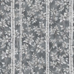 Silver Trees - PEWTER/SILVER