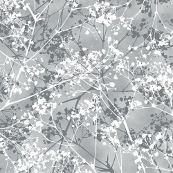Snowy Branches - PEWTER/SILVER