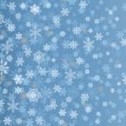 First Snowfall - BLUE/SILVER