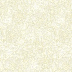 Bold Flowers - PAPYRUS/GOLD