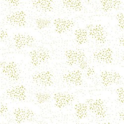 Speckles - WHITE/GOLD
