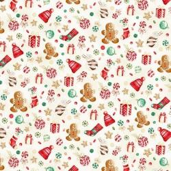 Christmas Theme - NATURAL/GOLD