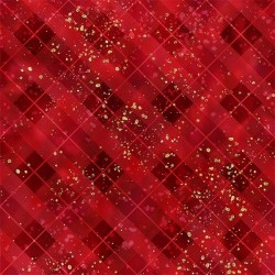 Plaid - RED/GOLD