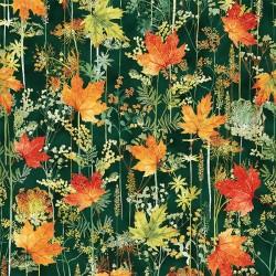 Autumn Forest - EMERALD/GOLD