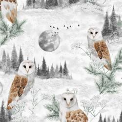 Owls - LIGHT GREY/SILVER