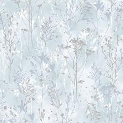 Flower Stems - BLUE/SILVER