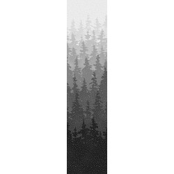 Forest Scene - ONYX/SILVER