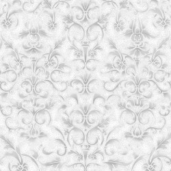 Floral Pattern - ICE/SILVER