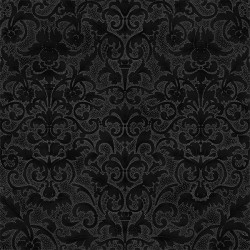 Floral Pattern - ONYX/SILVER