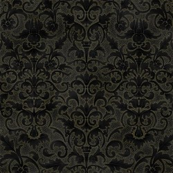 Floral Patterns - BLACK/GOLD