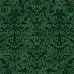 Floral Pattern - HUNTER/GOLD