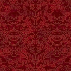 Floral Pattern - SCARLET/RED