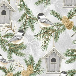 Bird Houses - FOG/GOLD
