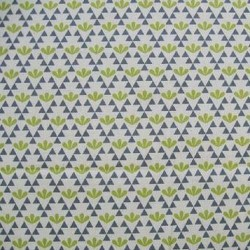 Kokka Japan (100%-Cotton-110cm) - GEOMETIRC - CHARTREUSE