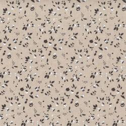 "Linen (60"") SPRIGS - NATURAL/CREAM"