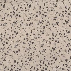 "Linen (60"") SPRIGS - NATURAL/GREY"