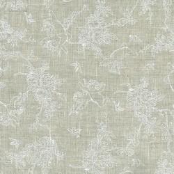 Linen 100% (1.5m) - Cherubs - WHITE