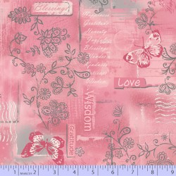 GOOD BLESSINGS COLLAGE - PINK