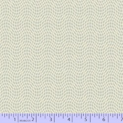 Wavy Grid - TAUPE