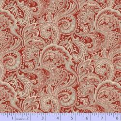 Medium Paisley - RED
