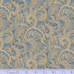 Medium Paisley - BLUE