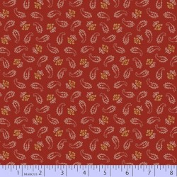 Small Paisley - RED
