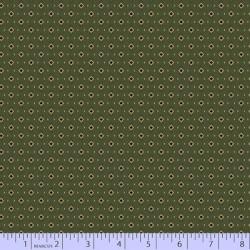 Ditsy Squares - GREEN